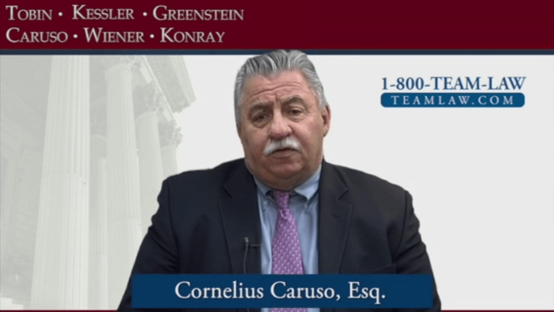 Team Law – Cornelius Caruso Profile