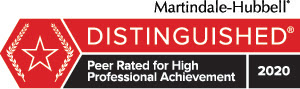 Martindale Distinguished