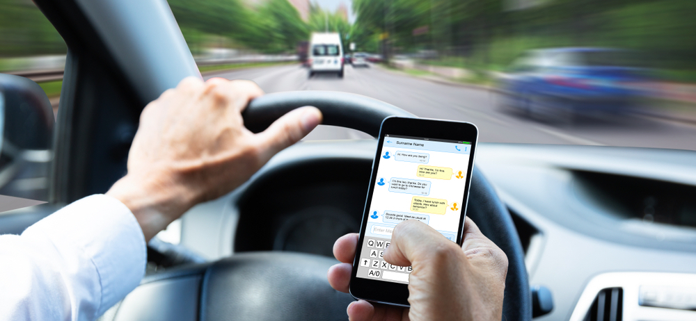 New Jersey Distracted Driving Car Accident Lawyer